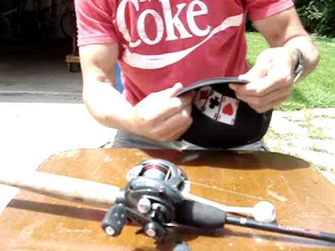 How To Make An Easy Fishing Reel Cover Out Of A Baseball
