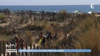 VU D'ICI : L'Espiguette, la plage star du Gard