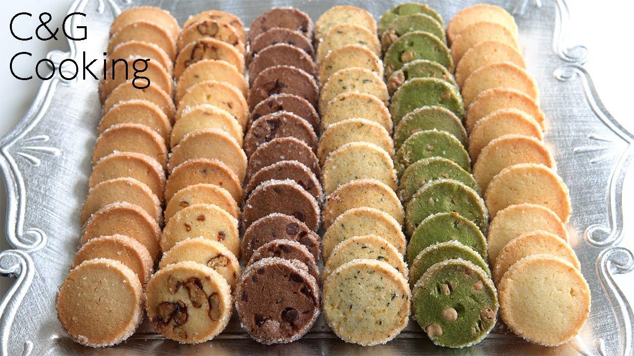 【綺麗に作るコツ】6種のディアマンクッキーの作り方 | ASMR スイーツ お菓子作り