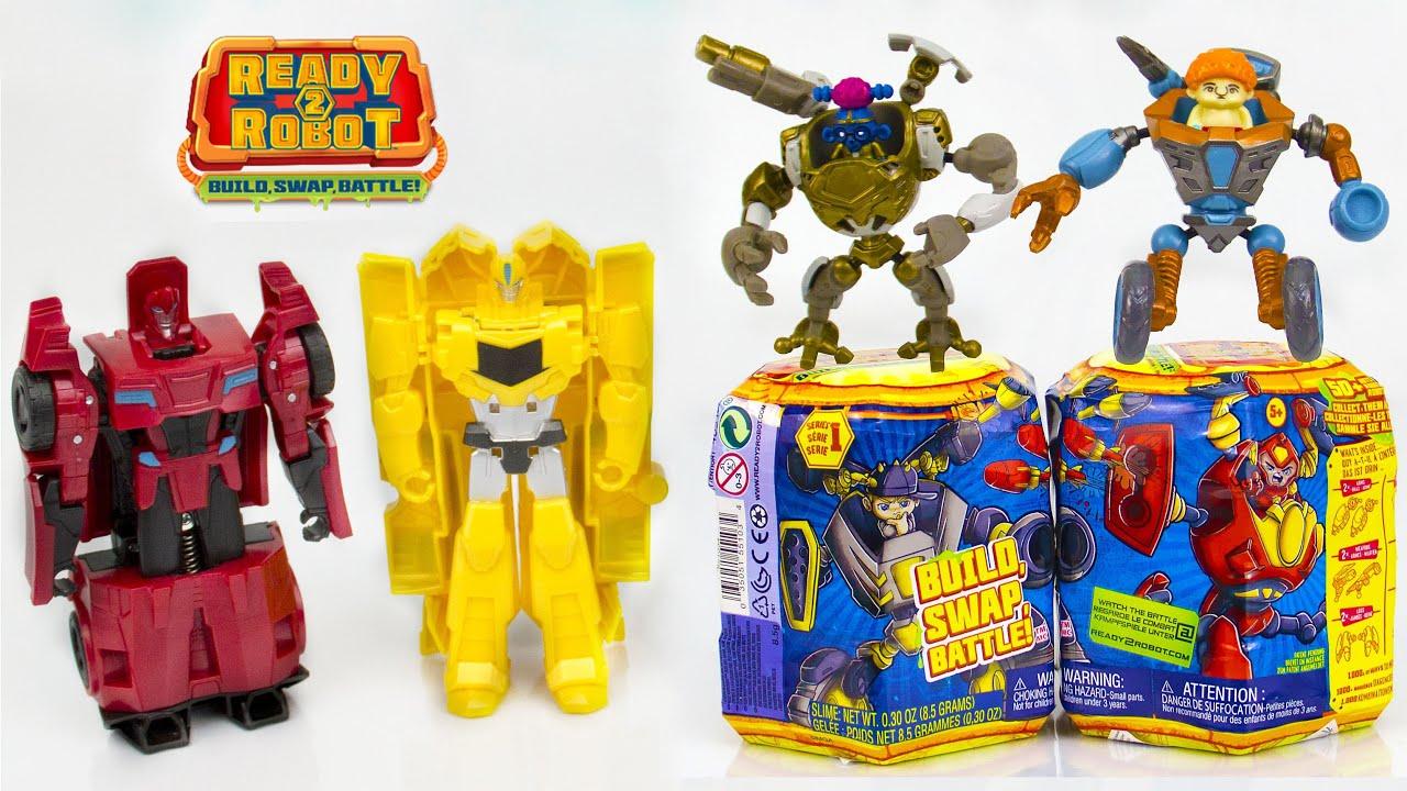 Сборник мультиков - Трансформеры Ready 2 Robot.