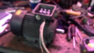 Частотный преобразователь от одной фазы(Частотник mitsubishi вход 3 фазы 240v 50hz ,выход 3 фазы 240v 2-200hz подключен от одной фазы,потеря мощности 20%, 2016-03-05T13:29:10.000Z)