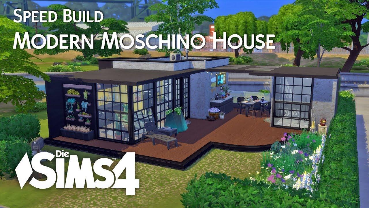 Die Sims 4 | Speed Build | Modern Moschino House