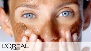 Dry Skin Care Routine with Pure Sugar Scrub - L'Oréal Paris