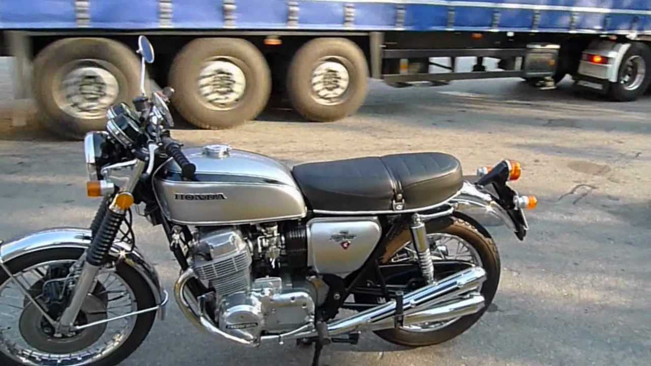 Honda Cb750 K2 1972 Silver Youtube
