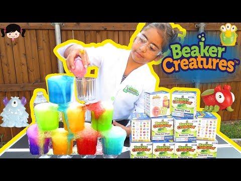 Torre de Colores con los Beaker Creatures Bolas Efervescente Sorpresa