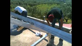 Energy-Greece Fotovoltaic panels installation 3