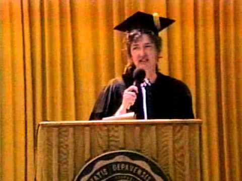 1994 - Author Barbara Kingsolver '77 Speaks at Her Alma Mater's Commencement
