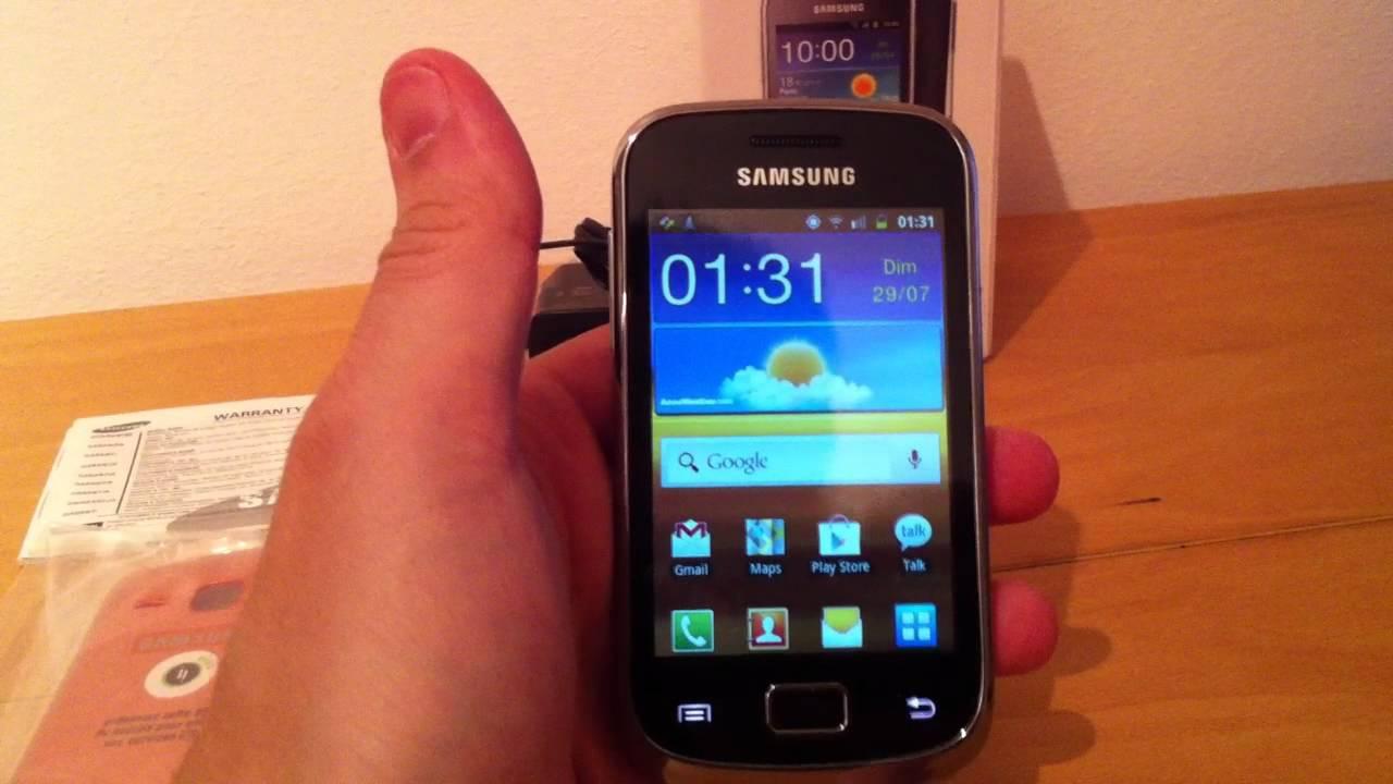 Test du Samsung Galaxy Mini 2 (GT-S6500)