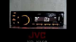 Автомагнитола JVC KD-X150EE, USB