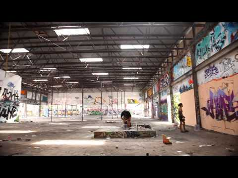 Ironlak at Art Basel - Miami 2012.