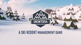Постройте идеальный горнолыжный курорт в игре Snowtopia Ski Resort Tycoon