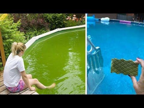 Grandma's Pool Cleaning Hack Goes Viral: Because It Works!