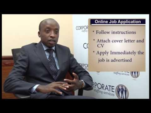 Advice On Online Job Application In Kenya