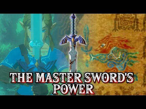Zelda: Breath of the Wild - THE TRUTH OF THE MASTER SWORD'S POWER!