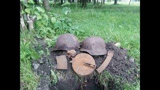 Коп по войне, найдены фрагменты самолёта