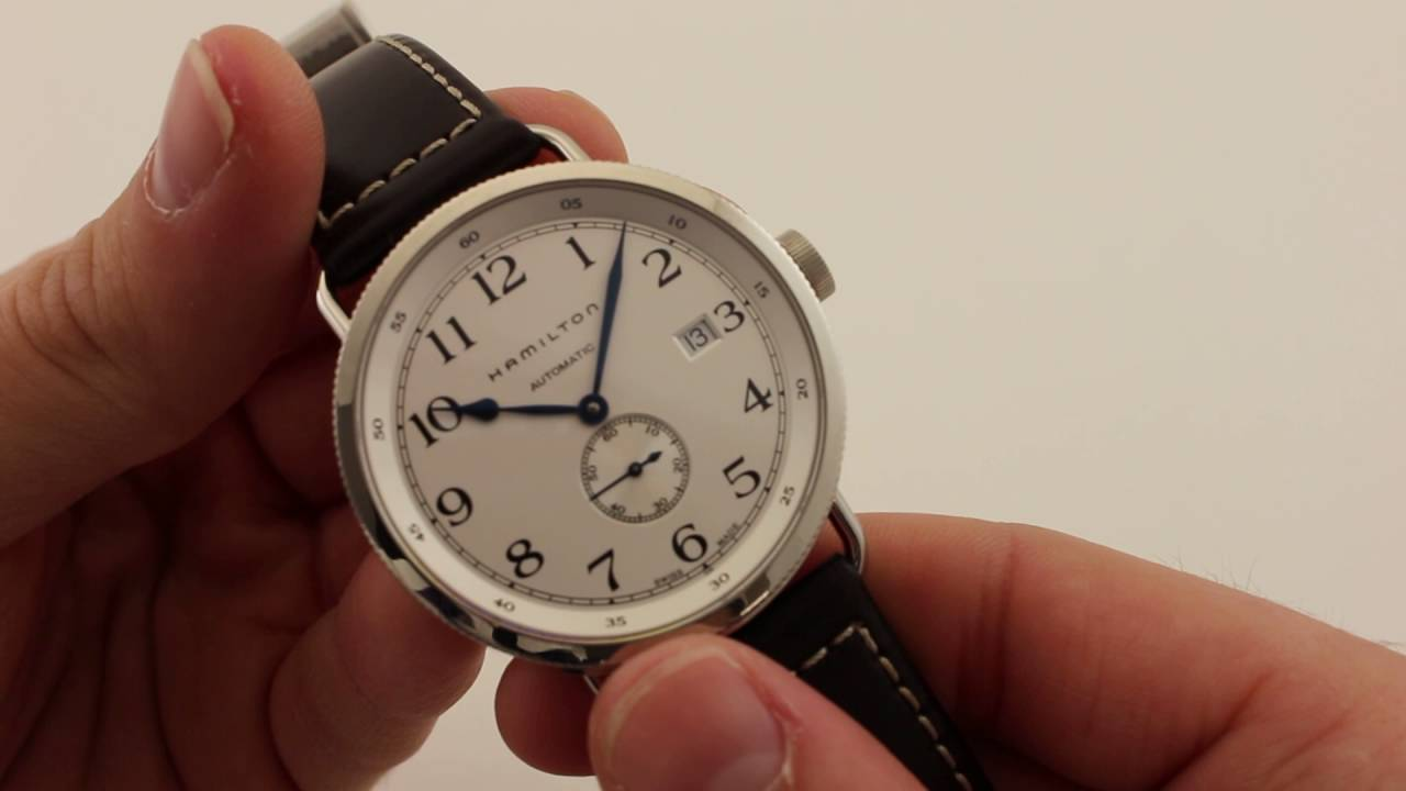 dc077625e90 Hamilton Navy Pioneer H78465553 Luxury Watch Review - YouTube