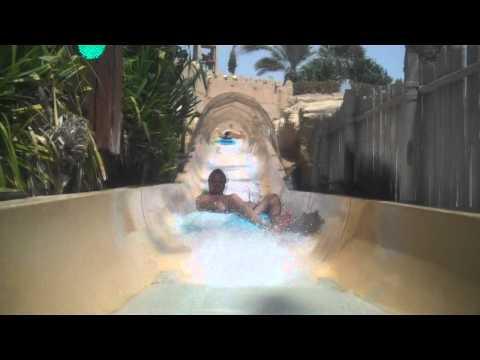 Wild Wadi Waterpark - Filming On Rides
