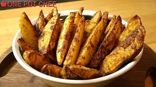 Ultimate Oven Baked Poтato Wedges | One Pot Chef