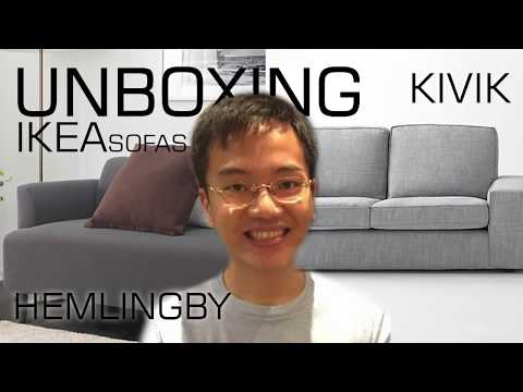 Unboxing Ikea Sofas: Kivik and Hemlingby