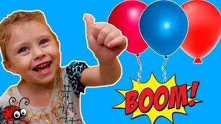 Balonase cu Apa  Sparge si gaseste Surpriza   Joc in Baie