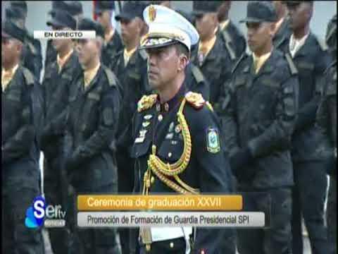 SERTV presidente de la república Juan Carlos Varela participa en graduación de agentes del SPI