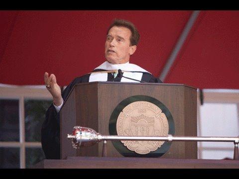 Six Rules Of Success Graduation Speech 2009 Arnold