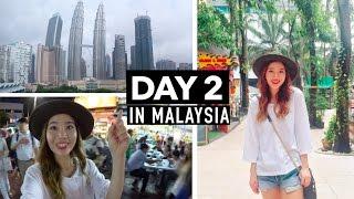 Malaysia Vlog #2 | Hotel Room Tour, Night Market, & Foot Massage