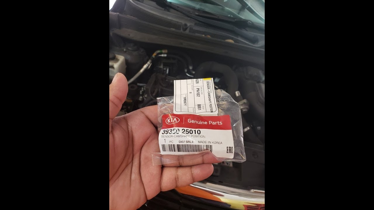 Kia Optima and Sportage 2 0T Cam position sensor replacement