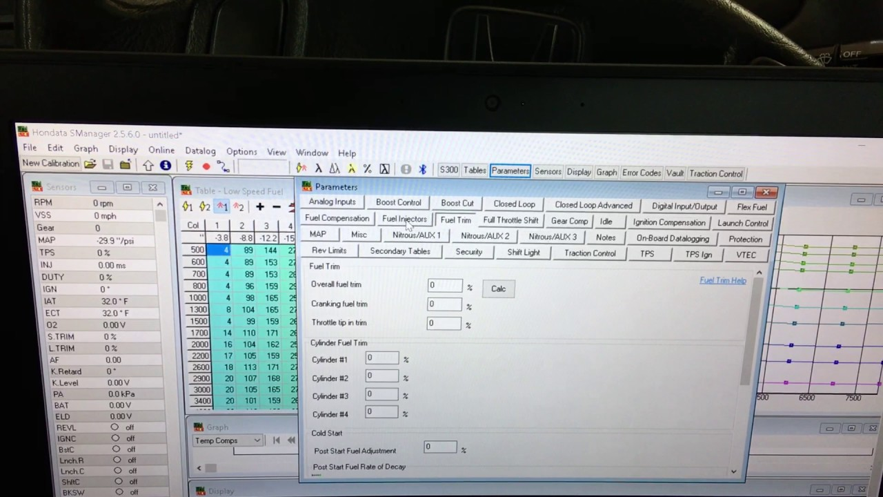 How to Upload a Base Map to your Hondata S300 ECU