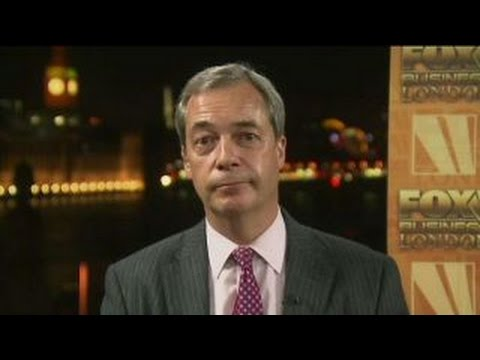 Nigel Farage: The European Union is in big trouble