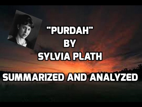 purdah sylvia plath biography