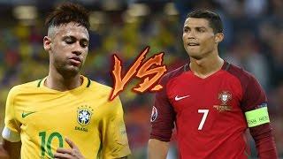 Cristiano Ronaldo vs Neymar Jr ● Craziest Skills & Goals ● Portugal & Brazil HD