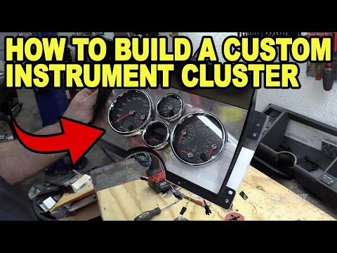How To Build A Custom Instrument Cluster