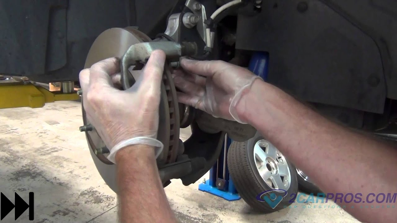 Front Brake Pads Rotor Replacement 2002 2007 Saturn Vue Youtube Caption Diagram Of The Basic Disc Setup Arotor B