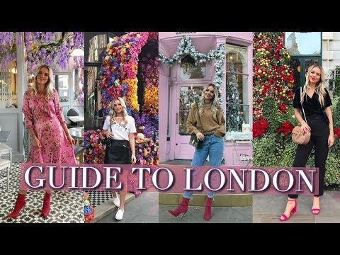 THE INSTAGRAM TRAVEL GUIDE TO LONDON | London Travel Vlog 2018
