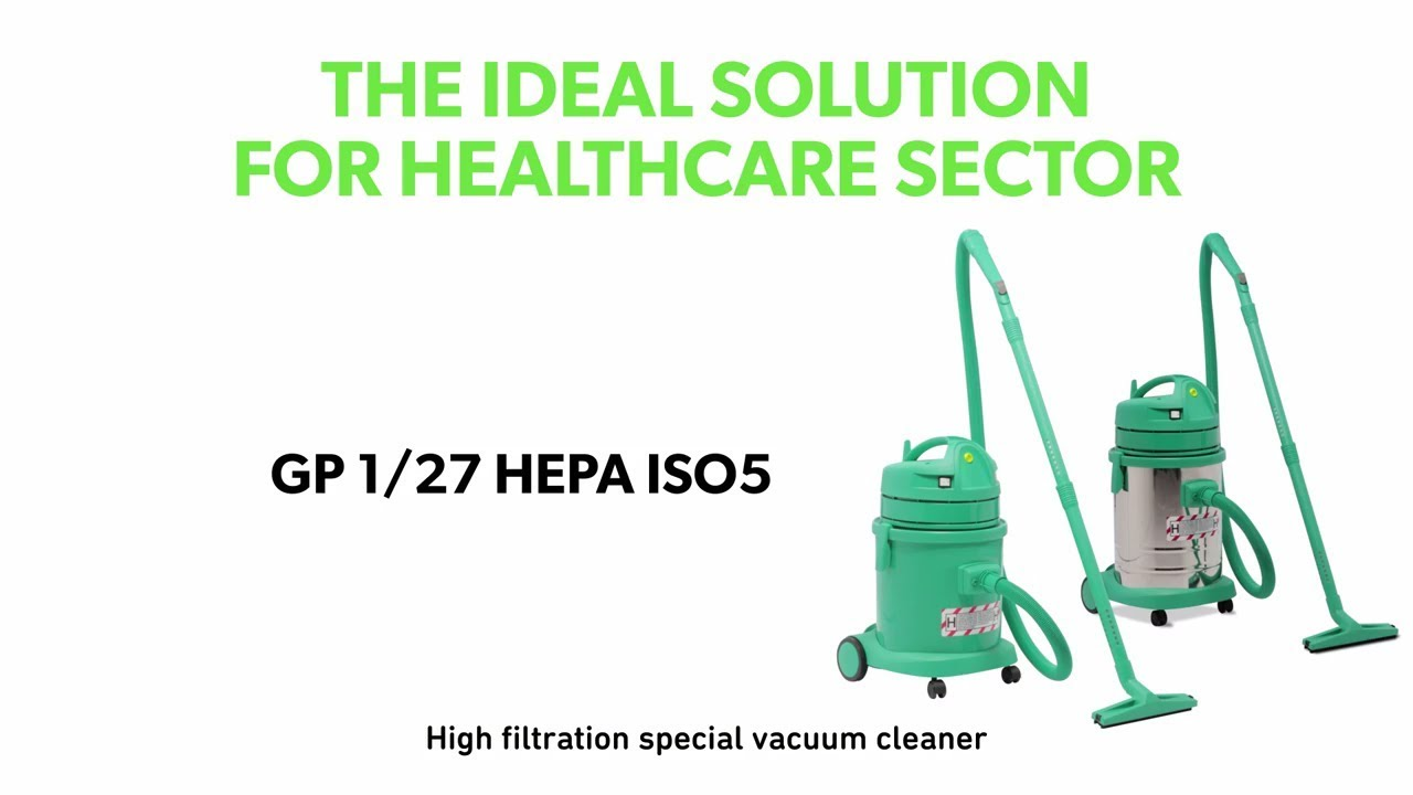 GP 1/27 HEPA ISO5: the ideal solution for healthcare sector