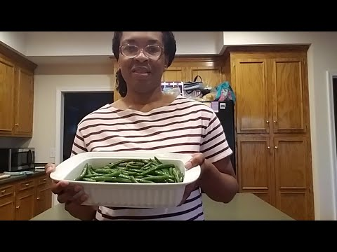 Cooking Lesson: Green Beans With Ginger