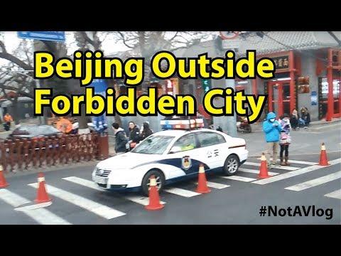 Beijing Outside Forbidden City