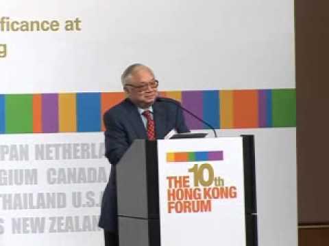 The 10th HK Forum - Sir Gordon Wu, Chairman, Hopewell Holdings ...