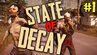 "State of Decay Breakdown Ep 01 - ""Idiot With A Grenade Launcher!!!"""