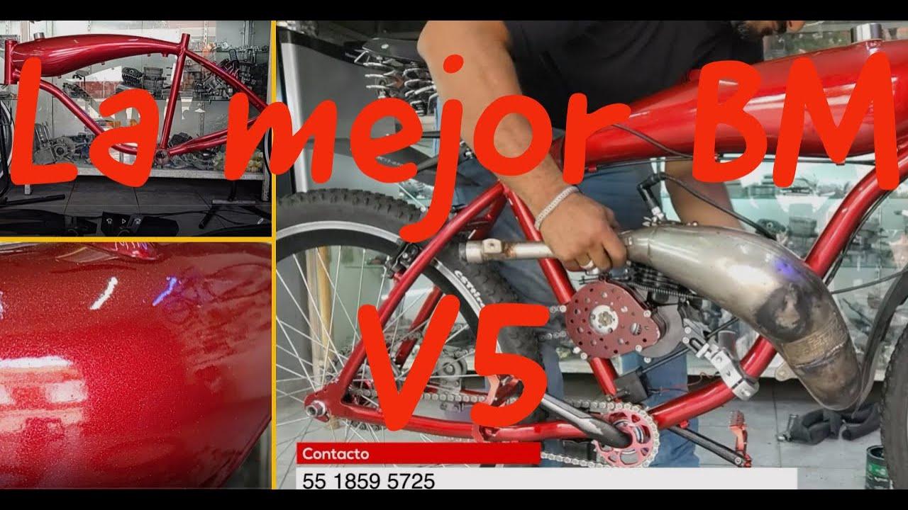 LA MEJOR BICICMOTO QUE HE HECHO//V5//CDMX//MOTOBICI