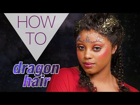 DRAGON HAIR | HALLOWEEN | VINTY NELLIE | HAIR TUTORIAL | Superdrug