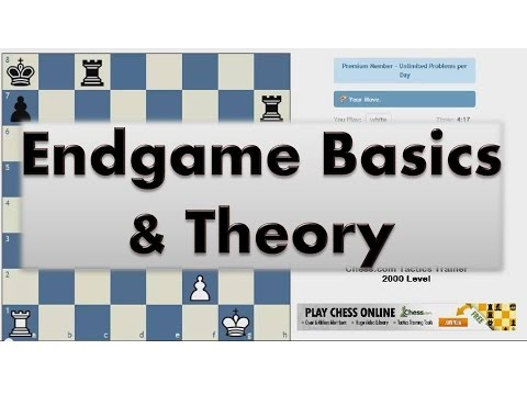 Chess Endgames #009 - Bascis - Rook and Pawn vs Rook Pt 1