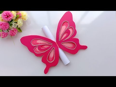 how-to-make-special-butterfly-birthday-card-for-best-friend//diy-gift-idea.