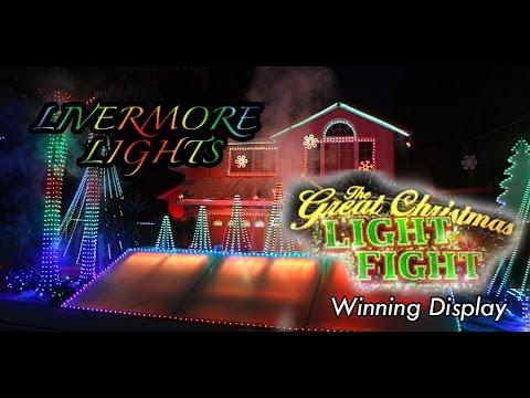 ABCs The Great Christmas Light Fight winning display  Matt Phipps