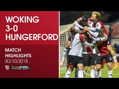 Woking 3-0 Hungerford Town | Match Highlights
