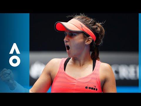 CPA Australia Shot of the Day: Lauren Davis puts one past Simona Halep