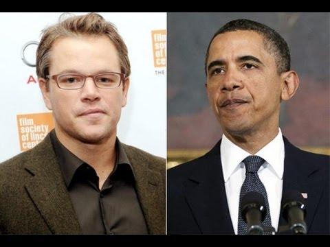 Obama 'Breaks Up' With Matt Damon