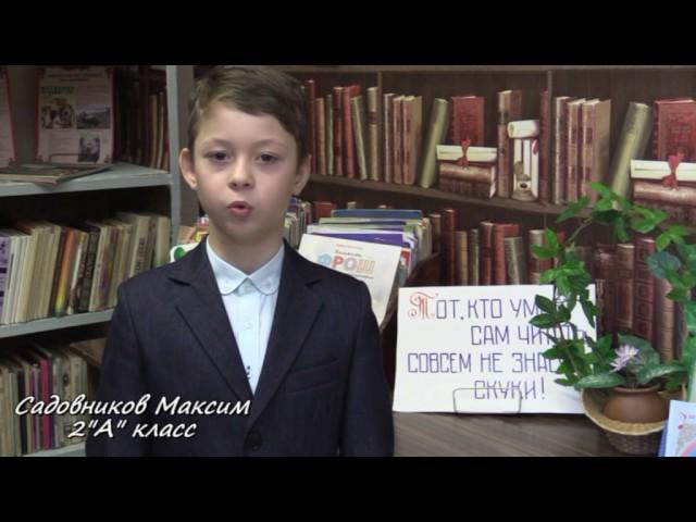 Изображение предпросмотра прочтения – МаксимСадовников читает произведение «Лебедь, Рак и Щука» И.А.Крылова