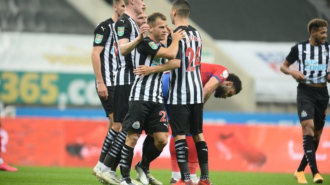 Newcastle United 1 Blackburn Rovers 0 | Carabao Cup Highlights